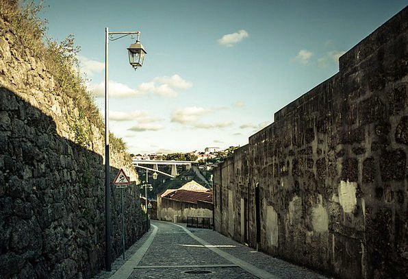 Porto Landscapes Scenery Nature Narrow Street Land