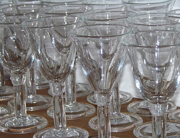 Antique Spectacles Goblets Glasses Vintage Out-of-