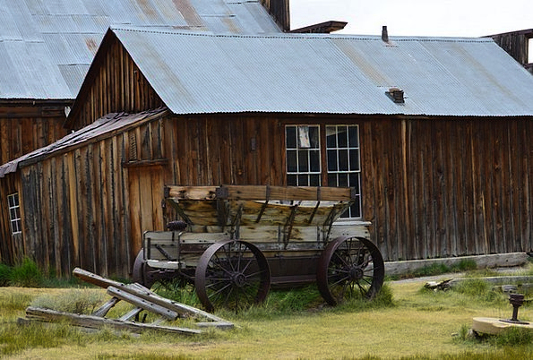 Ghost Town Rustic Rural Bodie Historic Important W