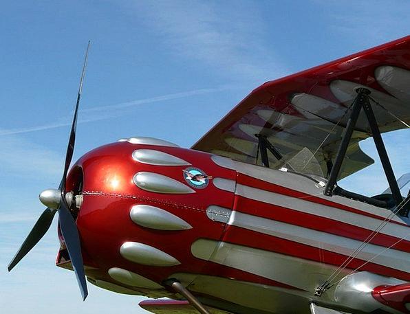 M17 Airplane Aerobatics Stunts Aircraft Propeller
