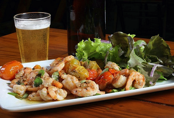 Shrimp Nosh Beer Cocktail Snack