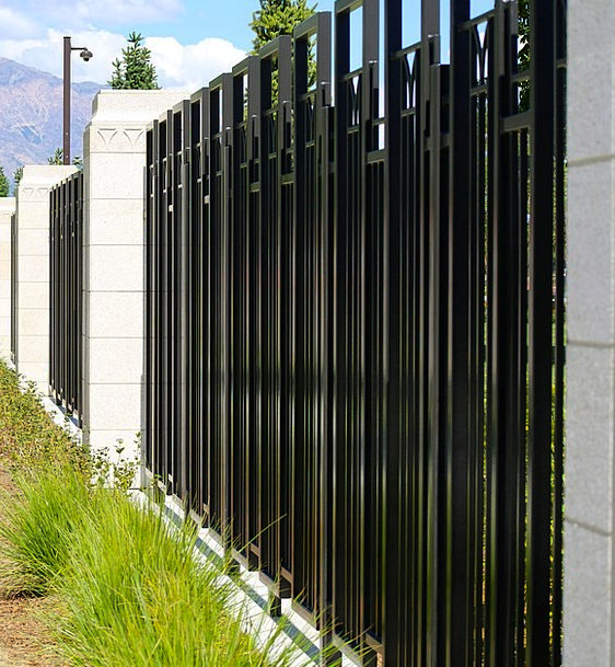 Fence, Entrance, Outside, Outdoor, Gate, Strong, Metal