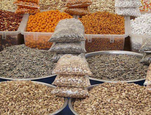 Nuts Mad Ounces Market Marketplace Grains Pistachi