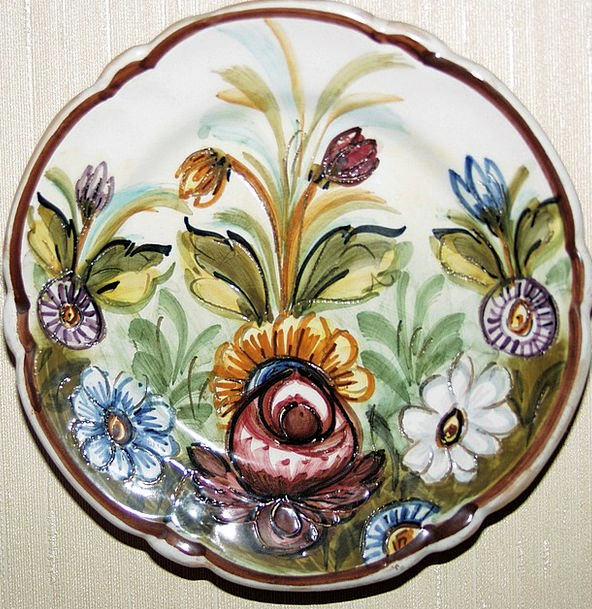 Plate Bowl China Wall Decoration Porcelain Nippes