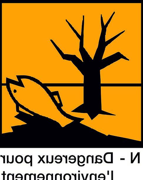 Sign Hazardous Dangerous Dangerous For The Environ