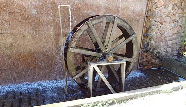 Waterwheel Vigor Sustainability Energy