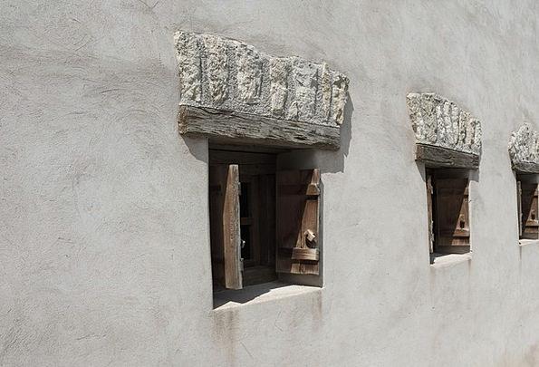 Window Gap Buildings Partition Architecture White