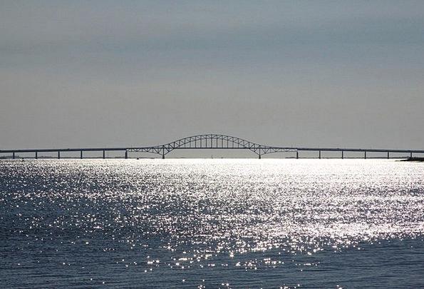Bridge Bond Vacation Marine Travel Sea Ocean Bowst