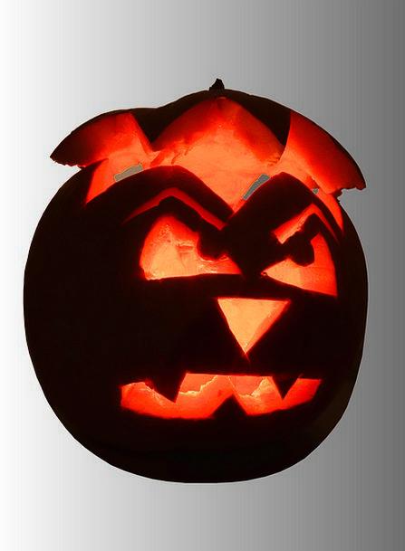 Pumpkin Carve Slice Halloween Culture Ethos Autumn