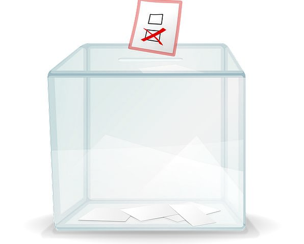 Ballot Box Container Poll Box Election Casting Vot