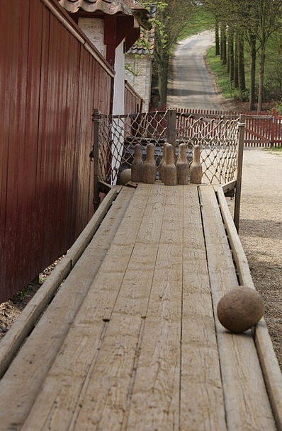 Bowling Careening Timber Antique Old Wood Ancient