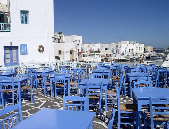 Greece Table Bench Cyclades Blue Azure Chair Chair