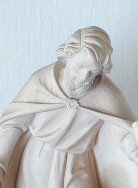 Joseph Statue Carving Model Sculpture Wood Carving