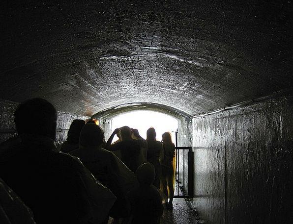 Niagara Falls Channel People Public Tunnel Tourist