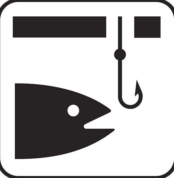 Fishing Fishhook Angling Fish Hook Free Vector Gra