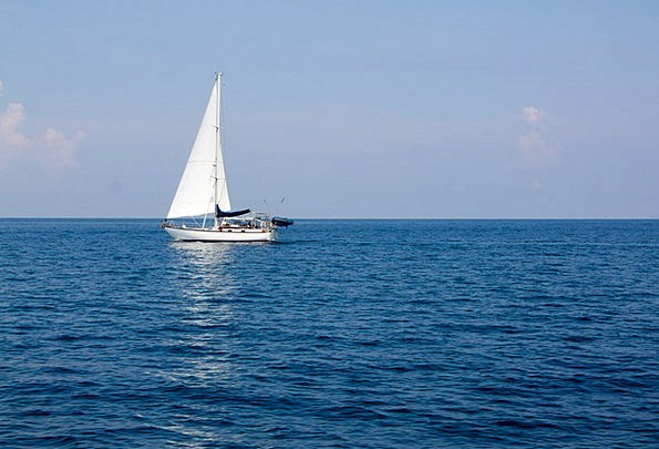 Sailboat Dinghy Vacation Marine Travel Ship Vessel