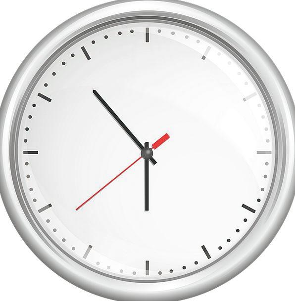 Clock Timepiece Time Period Kuechenuhr Minutes Tim
