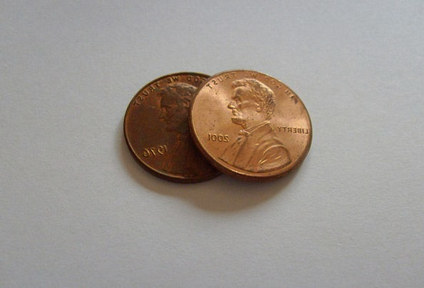 Penny Currency Finance Business Lincoln Cent Money