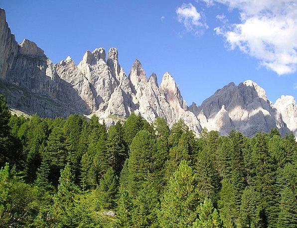 Geisler Range Landscapes Nature South Tyrol Dolomi