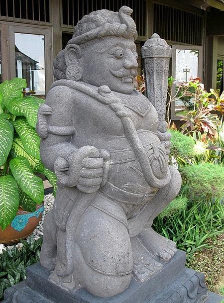Statue Figurine Island Isle Ayer Temple Indonesia