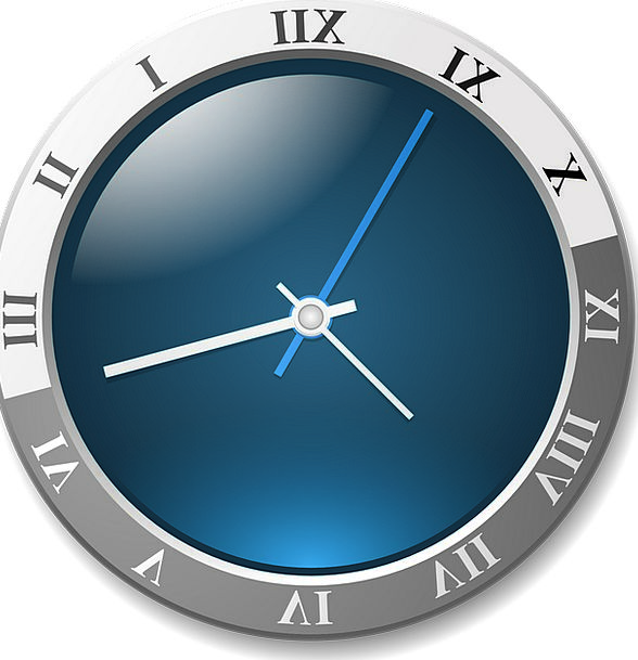 Clock Timepiece Equivalent Face Expression Analog