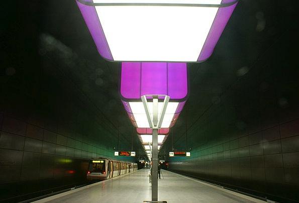 Metro Train Pullman Hamburg