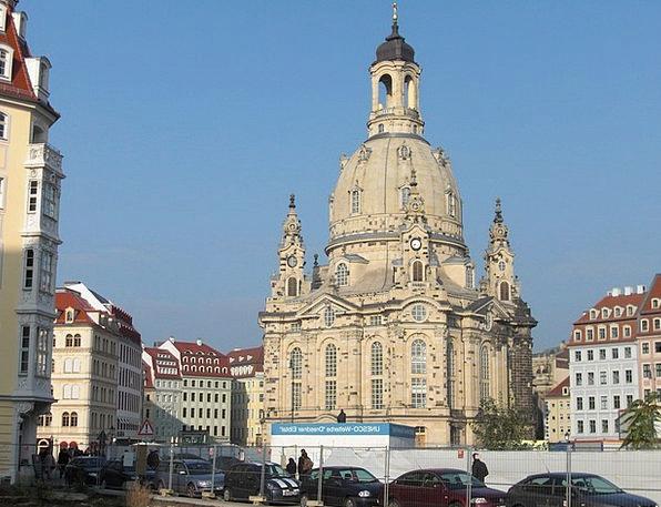 Frauenkirche Church Ecclesiastical Dresden Saxony