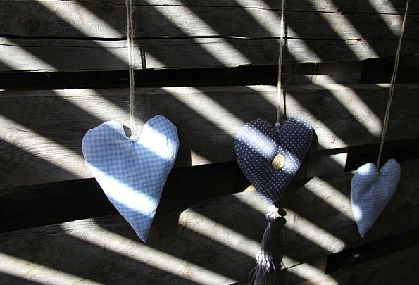 Heart Emotion Shadow Play Wooden Wall Love Darling