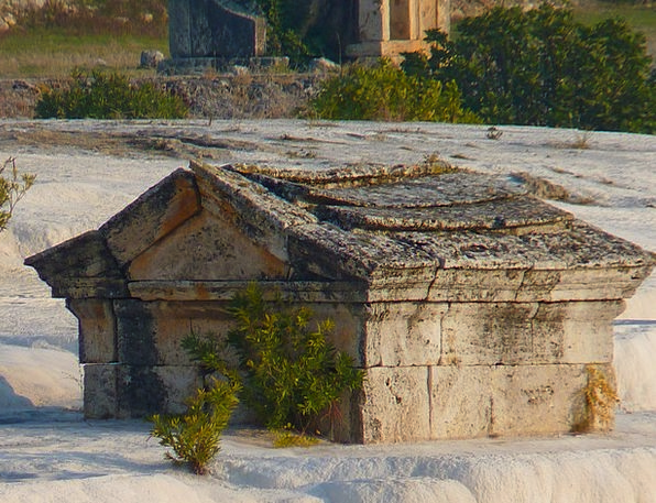 Pamukkale Coffin Tomb Catacomb Sarcophagus Sintert