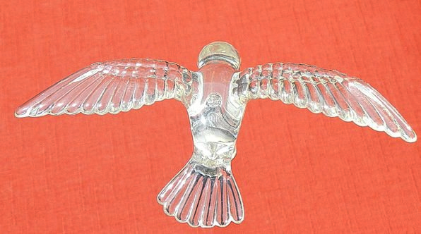 Bird Fowl Cut-glass Decoration Beautification Glas