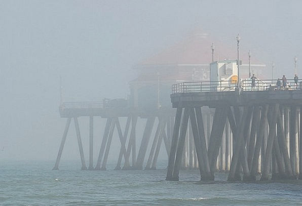 Pier Dock Vacation Hazy Travel Morning A.m. Misty