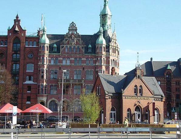 Harbour City Buildings Architecture Germany Hambur