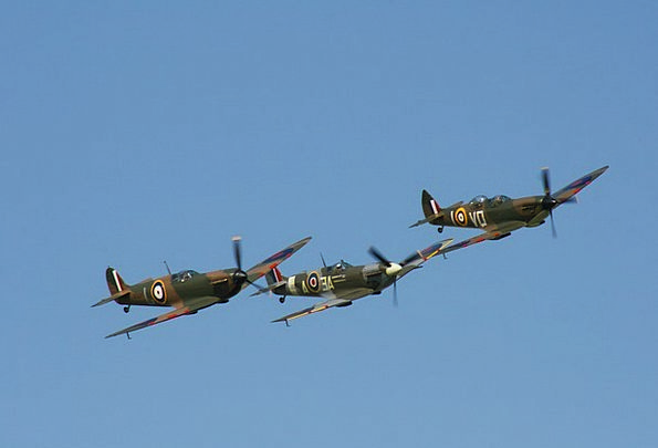 Spitfire Monuments Places War Conflict Aircraft Ba