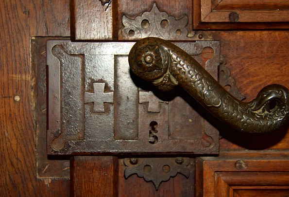 Germany Church Ecclesiastical Bavaria Door Handle