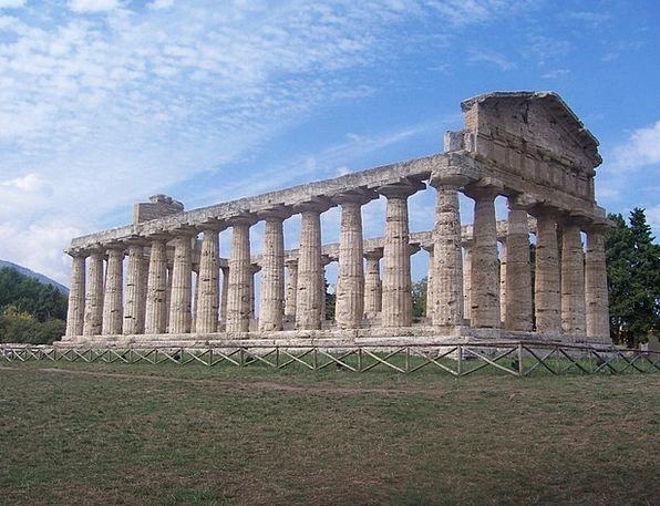 Italy Buildings Architecture Columnar Pompeii Anti