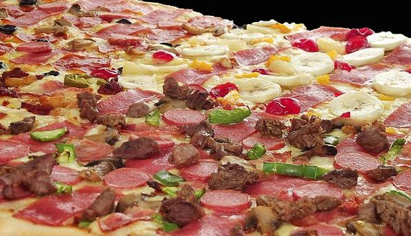Pizza Drink Food Salami Pepperoni Delicious Mozzar