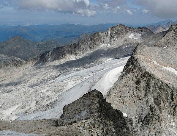 Mountain Crag Landscapes Blue Nature Glacier Sky M