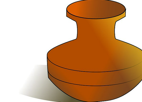 Urn Pot Vessel Vase Clay Pot Free Vector Graphics