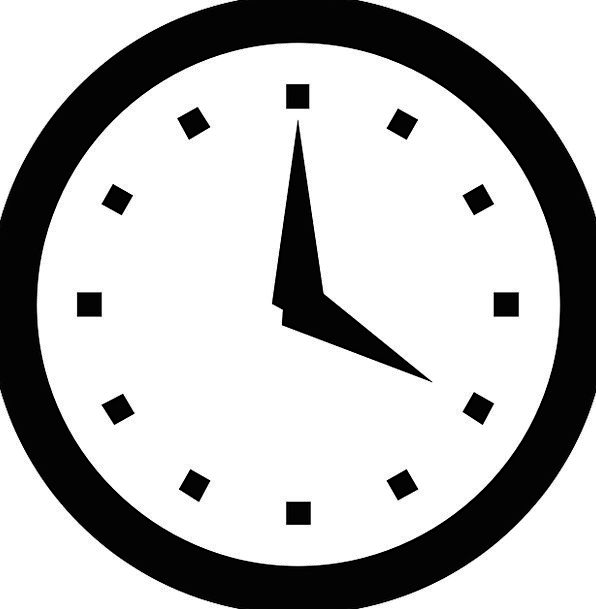 Clock Timepiece Time Period Watch Countdown Hour D