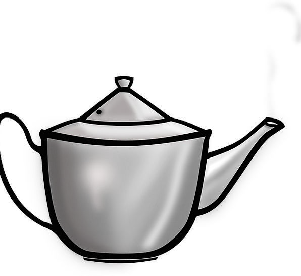Teapot Steamer Kettle Kitchenware Coffee Tea Free