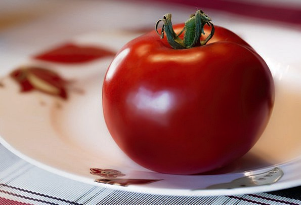 Tomato Drink Ovary Food Red Bloodshot Fruit Plate
