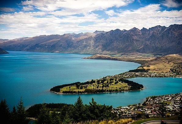 Queenstown Vacation Travel Lake Wakatipu New Zeala