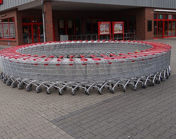 Shopping Cart Traffic Spending Transportation Supe